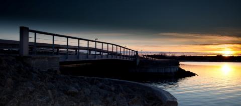 Overnatning ved Limfjorden i Thy og Vesterhavet i Vest